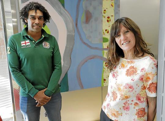 Marvin Singhateh y Tona Pou, coordinadores de Connect'Up
