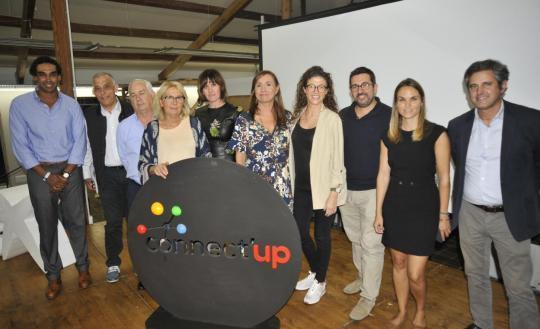 Los miembros del jurado de Connect'Up Grow 2019