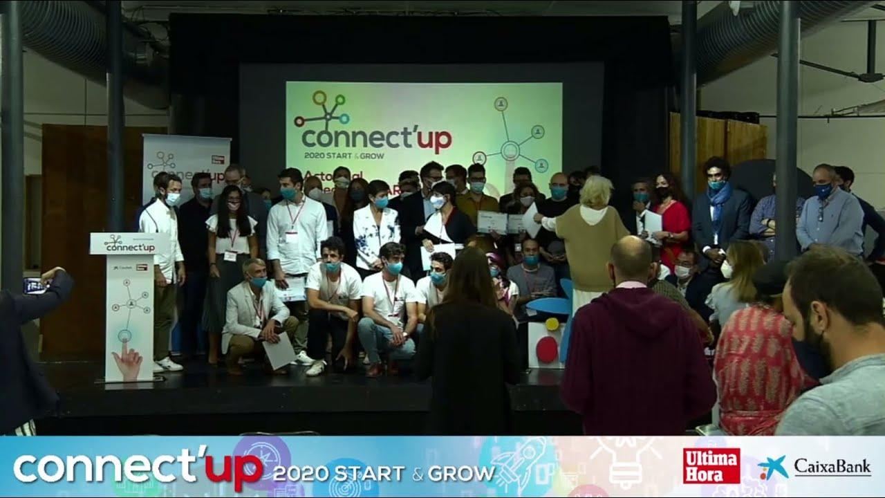 Connect'Up Start 2020: entrega de premios